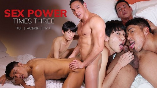 JapanBoyz - Sex Power Times Three: Fuji, Musashi, Ryuji (May 29)