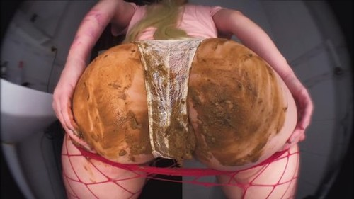 DirtyBetty - Hypnotic scat lunatic booty show - Solo Scat, Defecation, Shiting G