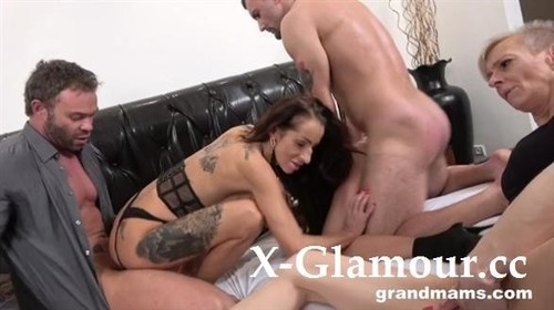A Group Of Horny Grannies - All Sex (FullHD)