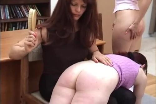 The Hairbrush - Spanking and Whipping, Punishment