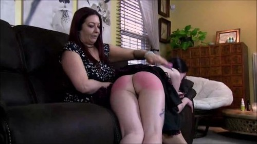 The Fashion Model Comes Home Part 1 of 2 - Spanking and Whipping, Punishment