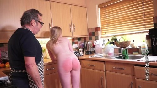 Satine and the fruit cake - Spanking and Whipping, Punishment