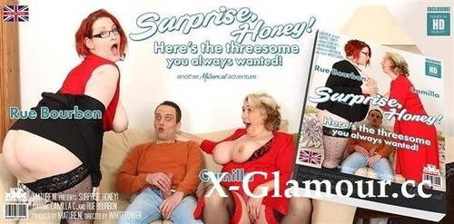 "Camilla C in ""Honey Surprise! Your Big Breasted Threesome Awaits Your Hard Cock!"" [HD]"