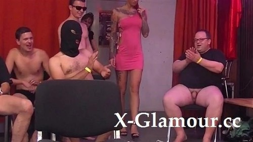 Angel Sky - Girl Licked Before Her Gang-Bang
