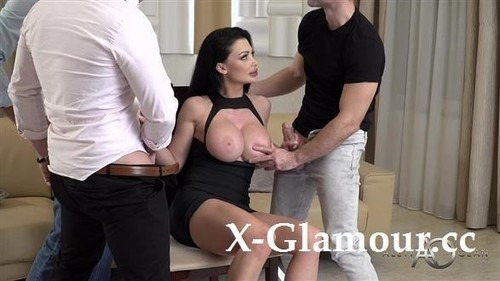 Huge Boobs Milf And Three Hard Dongs [HD]