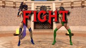 Mortal Kombat - Kitana vs. Orchid