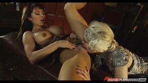 Franceska Jaimes, Sophia Knight - League of Frankenstein sc5, 1080p