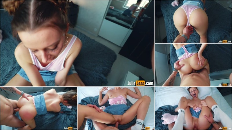 Julie Jess - Teen Gets Hard Sex after School [FullHD 1080P]