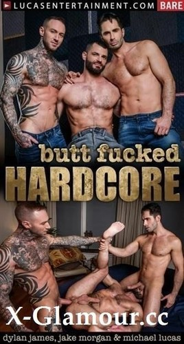 Lvp340-04 Butt Fucked Hardcore, Scene 04 Dylan James And Michael Lucas Spit-Roast Jake Morgan [HD]