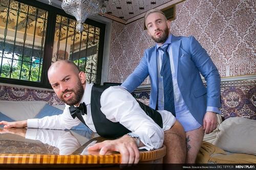 MenAtPlay - Big Tipper: Bruno Max, Manuel Scalco Bareback (Jun 26)