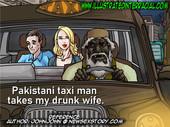 Illustratedinterracial - Pakastani Taxi Man - 8 pages