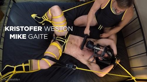 KinkyBitesMen - Kristofer Weston: Ties Up Mike Gaite & Torments His Hairy Hole (Jun 26)
