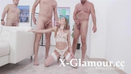 Blackened Eveline Dellai Gets 3 Bwc And 3 Bbc For Balls Deep Anal, Dap, Gapes, Swallow And Facial Gio1472 [SD]