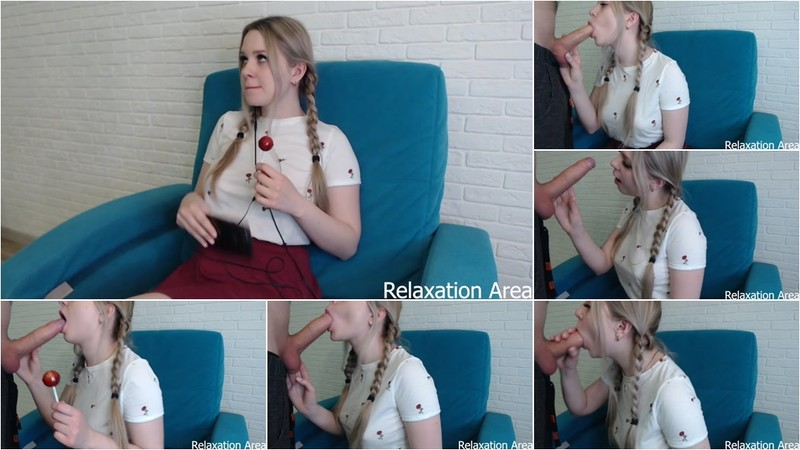 Relaxation Area - Blowjob from Sister (1080P/mp4/166 MB/FullHD)