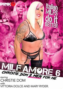MILF Amore 6 – Christie Dom 2 Men For Me