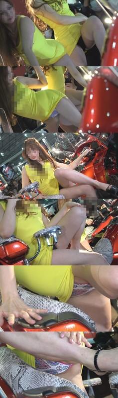 超速報!超高画質FHD動画 東京オートサロン2020 NO-25 えっちな娘をローアングル撮り編①