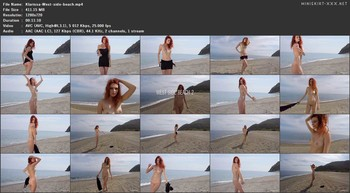 Klarissa - West side beach, 720p