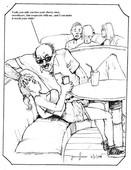 Dave drawings randy maloriefck174terprufespel