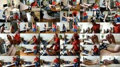 House Mover Passionately Worships His Client's Feet - Czech Soles
