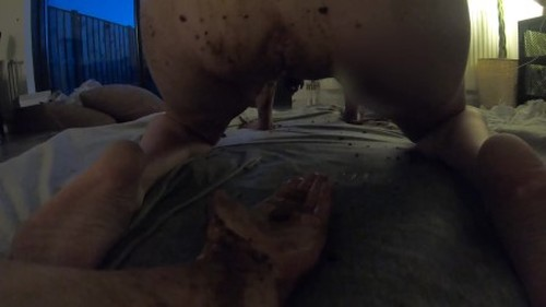 Heatherfly - Friday night - extreme scat smearing pissing and fucking - Femdom Scat, Domination Scat