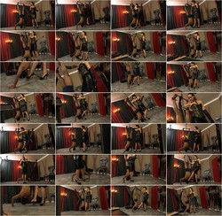 Lady Iveta - Inverted Pumpslicking (SadoLadiesFemdomClips) [HD 720p]