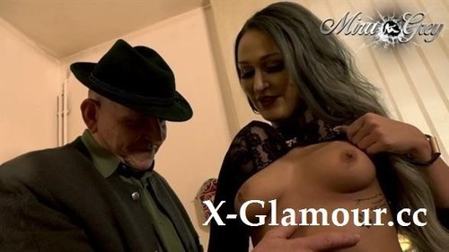 Mira-Grey - Disgusting Old Man With A Big Cock Explodes My Tight Pussy (FullHD)