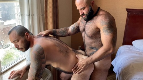 MenOver30 - Fill My Hairy Hole Daddy!: Atlas Grant, Julian Torres Bareback (Aug 28)