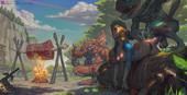 Sabudenego - Zelda's kidnapping (Legend of Zelda BotW)