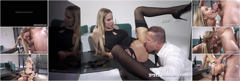 Florane Russell - Anal At The Office (HD)