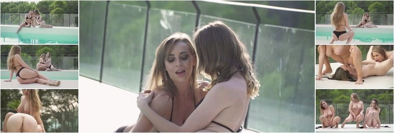 Alessandra Jane, Adel Morel, Josephine Jackson - Lesbian party by the pool (FullHD)