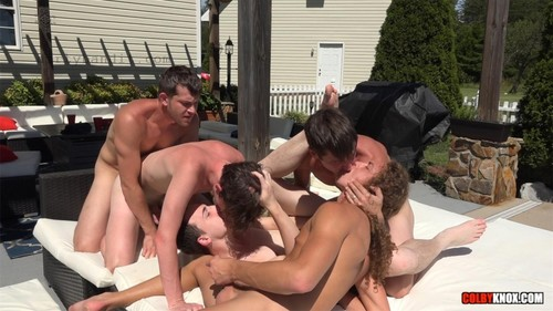 ColbyKnox - Labor Day Weekend Fuckfest Bareback Part 2 Bareback (Sep 20)