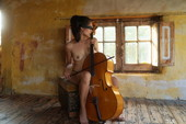 Solange - teasing in masturbation
