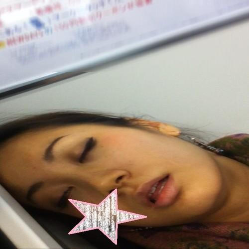 【顔フェチ】寝顔を接写する