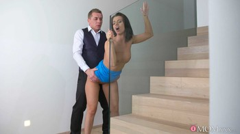 Vicky Love - Blind date with perfect tits milf, 1080p