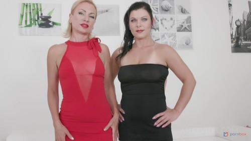 LegalPorno -  Kinky interracial orgy with Janice United & Ketti KS134