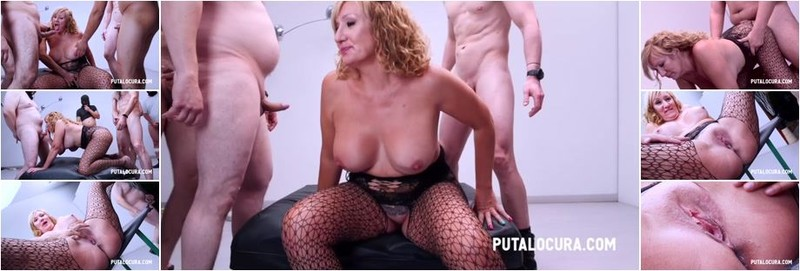 Victoria Vera - Creampie Gangbang With The Mature Woman (HD)