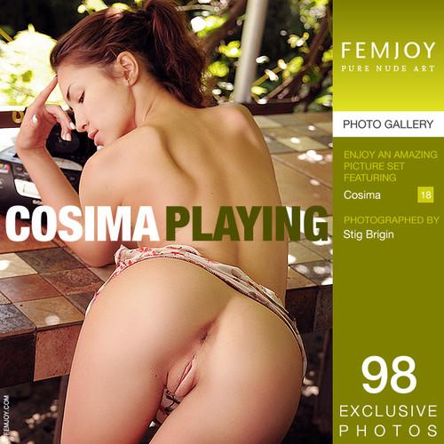 Cosima - Playing (x98)