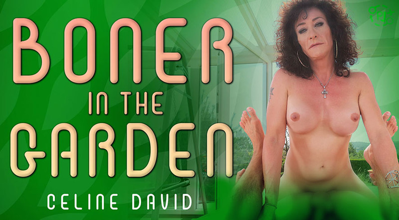 [TSVirtualLovers] Celine David - Boner In The Garden [Virtual Reality, POV, 1080p, Mobile VR, 960p]