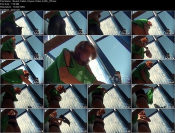 Beach Cabin-Voyeur Video 2405 138