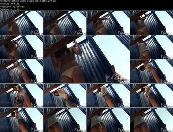 Beach Cabin-Voyeur Video 2405 225