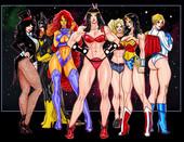 SuperPoser - Girl Power (Justice League adul comic)