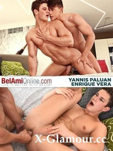 Enrique Vera, Yannis Paluan - Condom Free Enrique And Yannis [HD/810p]