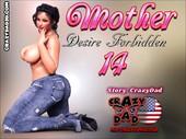 CrazyDad3d - New story, Mother desire forbidden 14