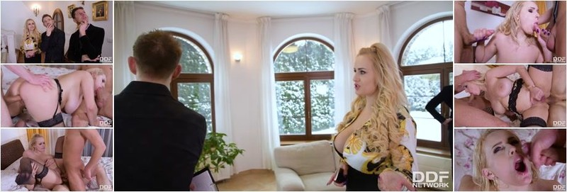 Angel Wicky - Voluptuous Blonde Double Penetrated (HD)