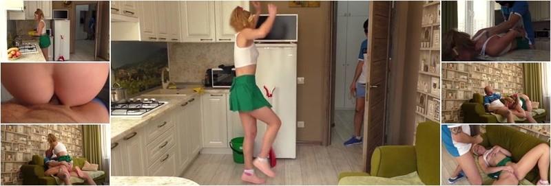 Aleksandra Bikeeva - Home Intruder First Time Anal (FullHD)