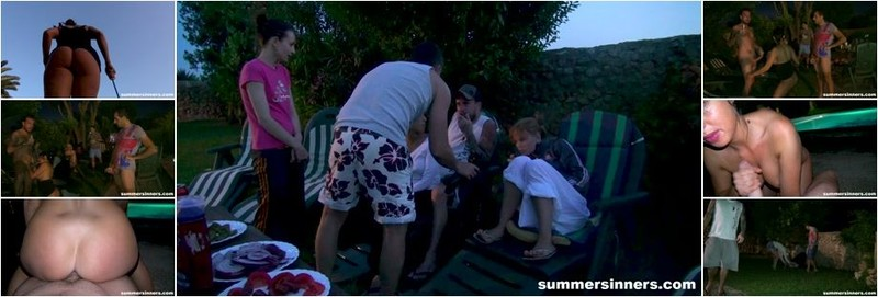 Nikki - Anni Mal) - Bbq Party Ends Up Fucking At The Pool (FullHD)