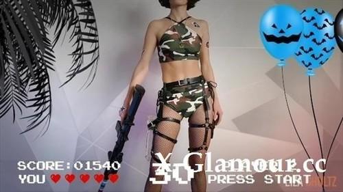 Lizashultz - Counter-Strike Gamer Cums From Huge Dildo. Happy Halloween Kittens. [FullHD/1080p]