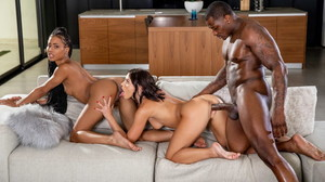 (Blacked) - Lazy Sunday (Descanso Dominical) - Adriana Chechik, Kira Noir & Rob Piper [26-11-2020]