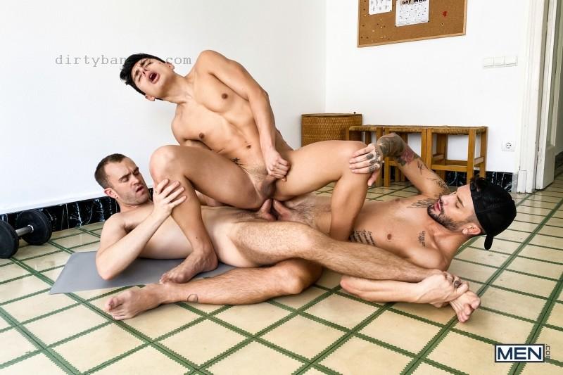 MEN - Stay In Shape: Jackson Radiz, Ken Summers, Andrea Suarez Bareback (Dec 7)