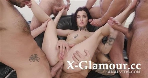 , 5On1 Balls Deep Anal, Gapes, Dap, Atm And Swallow Gio1657 [SD]